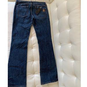 BCBG Max Azria Size 28 Agnes Bootleg Jeans